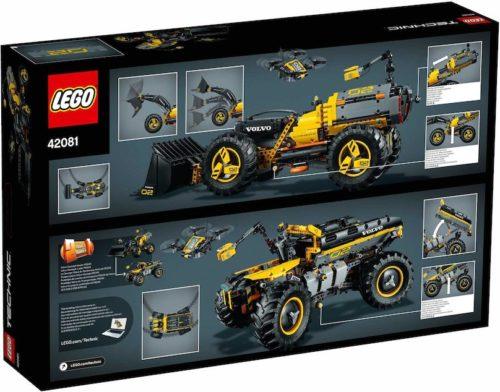 LEGO Technic 42081 - Volvo Konzept-Radlader Zeux