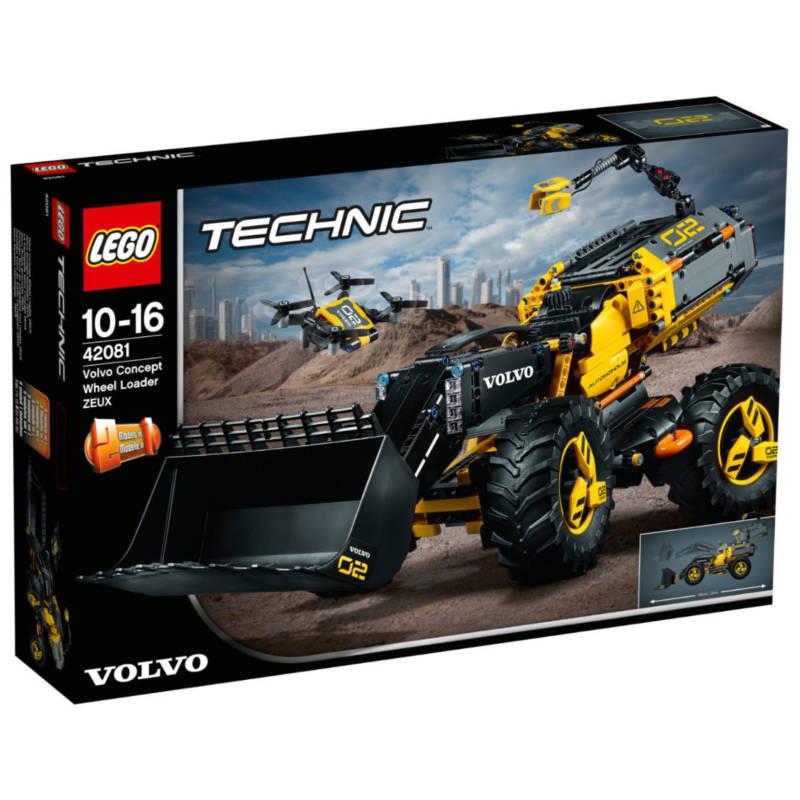 Ludibrium-LEGO Technic 42081 - Volvo Konzept-Radlader Zeux