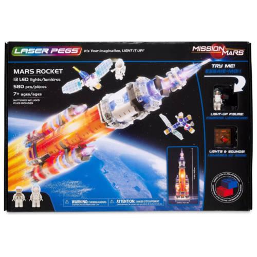 Ludibrium-Laser Pegs - Mars Rocket - Klemmbausteine