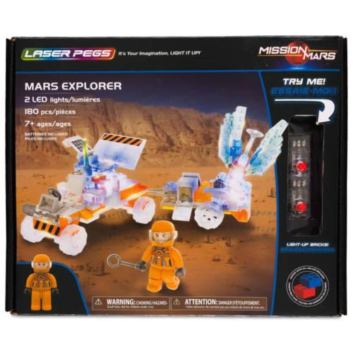 Ludibrium-Laser Pegs - Mars Explorer