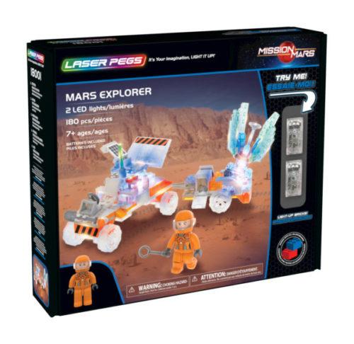 Laser Pegs - Mars Explorer