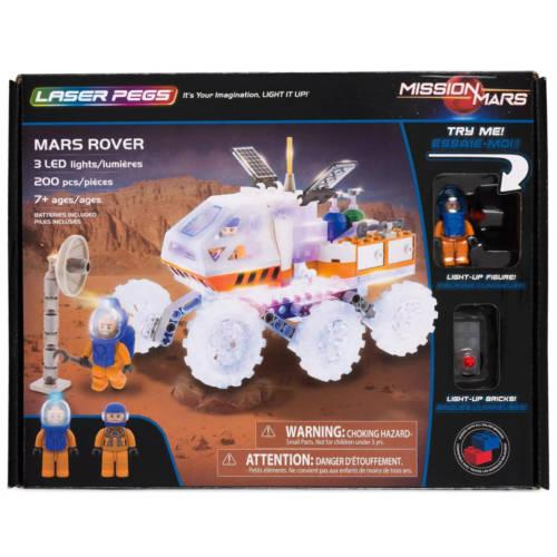 Ludibrium-Laser Pegs - Mars Rover - Klemmbausteine