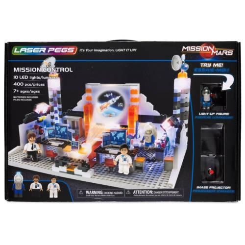 Ludibrium-Laser Pegs - Mission Control - Klemmbausteine