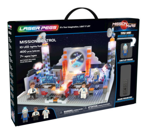 Laser Pegs - Mission Control