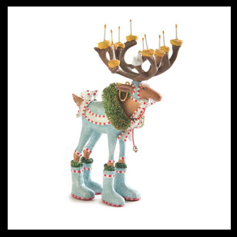Ludibrium-Krinkles - Krinkles - Dash Away - Rentier Dasher Mini Ornament