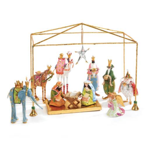 Krinkles - Mini Krippe 13-teilig - Mini Nativity Set