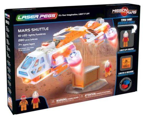 Laser Pegs - Mission Mars - Mars Shuttle