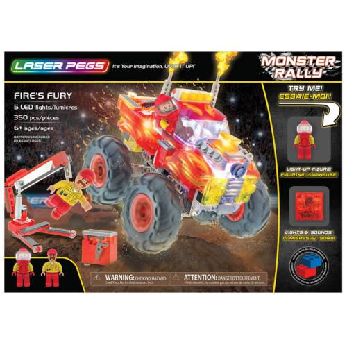 Ludibrium-Laser Pegs - Monster Rally - Fire's Fury