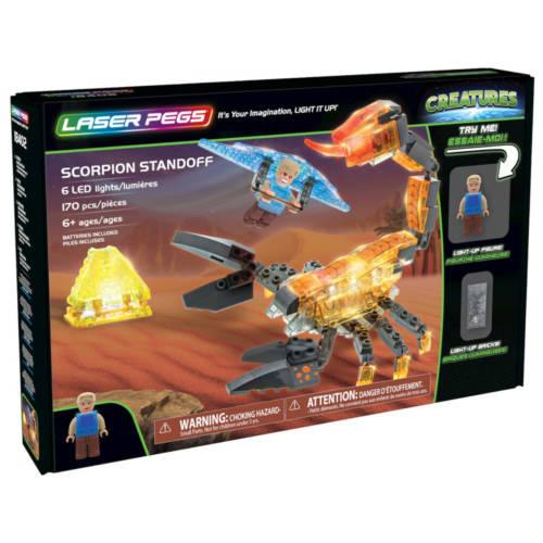 Ludibrium-Laser Pegs - Creatures - Scorpion Standoff - Klemmbausteine