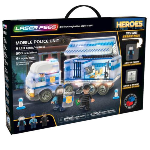 Ludibrium-Laser Pegs - Heroes - Mobile Police Unit - Klemmbausteine