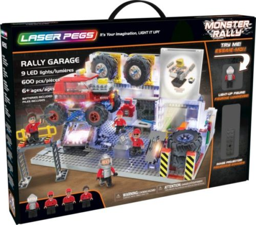 Laser Pegs - Monster Rally - Rally Garage