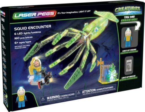 Laser Pegs - Creatures - Squid Encounter