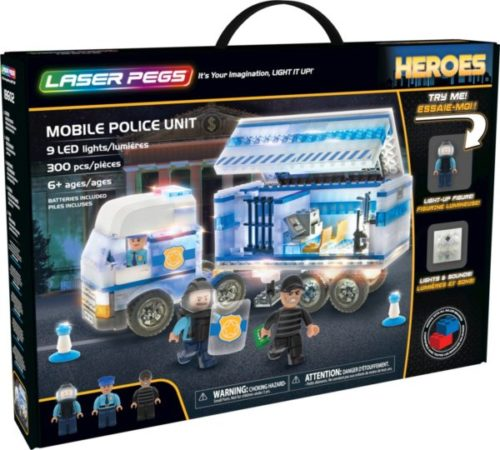 Laser Pegs - Heroes - Mobile Police Unit