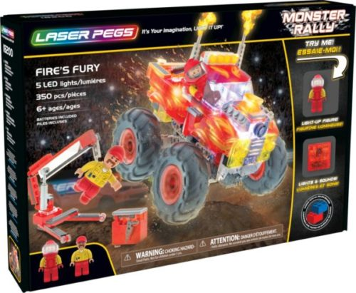 Laser Pegs - Monster Rally - Fire's Fury