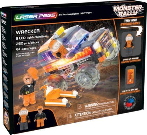 Laser Pegs - Monster Rally - Wrecker