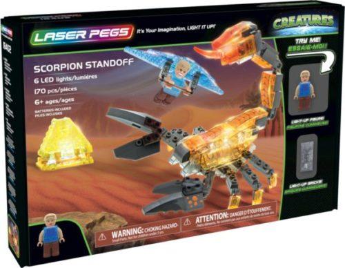 Laser Pegs - Creatures - Scorpion Standoff