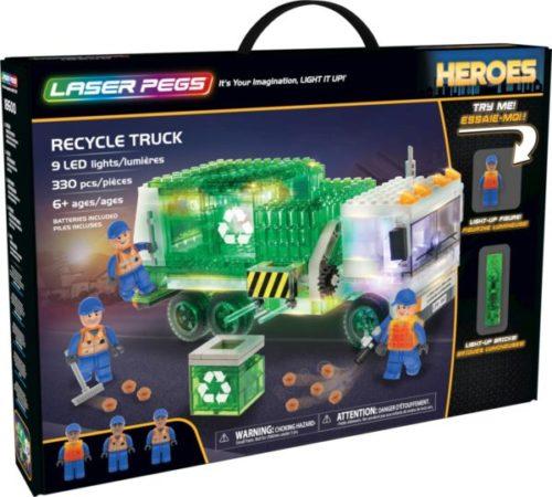 Laser Pegs - Heroes - Recycle Truck