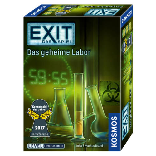 Kosmos EXIT - Exit das Spiel - Das geheime Labor