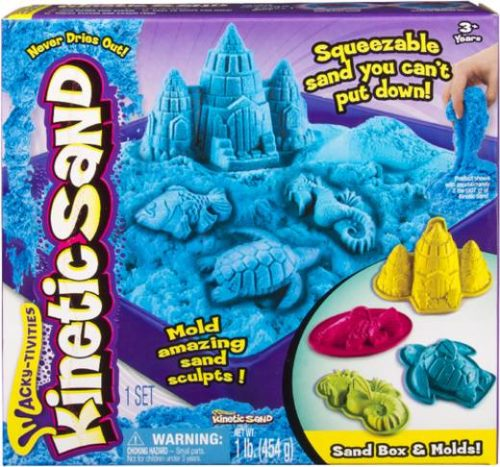 Spinmaster - Kinetic Sand Box Set blau, 454 g