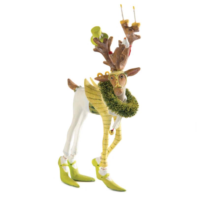 Ludibrium-Krinkles - Dash Away - Rentier Prancer Mini Ornament