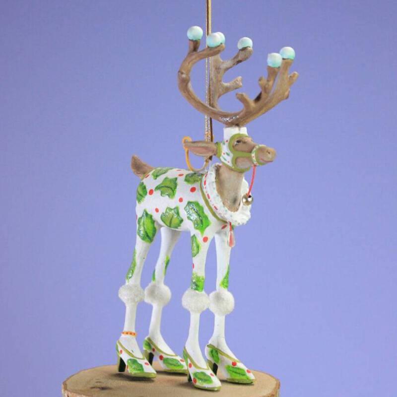 Ludibrium-Krinkles - Dash Away - Rentier Vixen Mini Ornament
