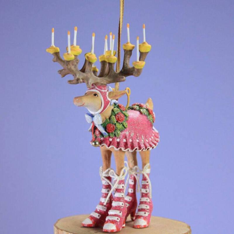 Ludibrium-Krinkles - Dash Away - Rentier Donna Mini Ornament