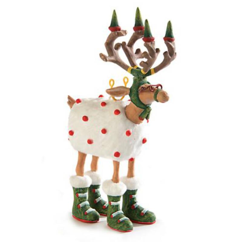 Ludibrium-Krinkles - Dash Away - Rentier Blitzen Mini Ornament