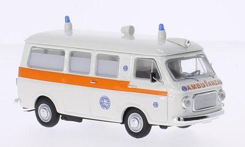 RIO -Fiat 238 Ambulanza Servizi Sanitari weiss, 1:43