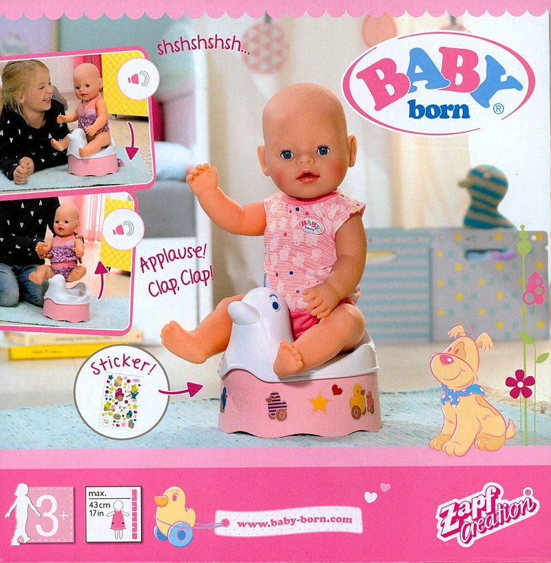 Zapf Creation - Baby Born Interaktives Töpfchen