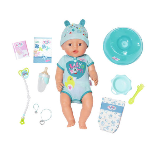 Zapf Creation - Baby Born Puppe Soft Touch Boy (43cm)