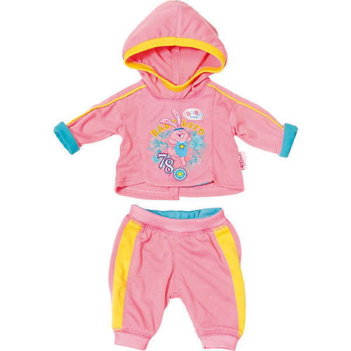 Zapf Creation - Baby Born Jogginganzug rosa