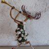 One Hundred 80° - Hirsch mit Trompete
