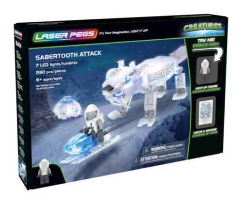 Laser Pegs - Creatures - Sabbertooth Attack