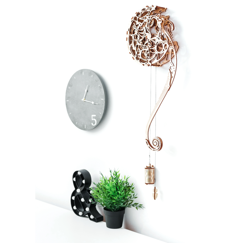 Ludibrium-Wooden.City - Pendulum WR313 (Uhr) - Holzbausatz
