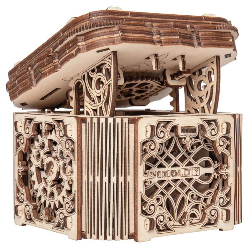 LUDIBRIUM-Wooden.City - Mystery Box WR315 - Holzbausatz
