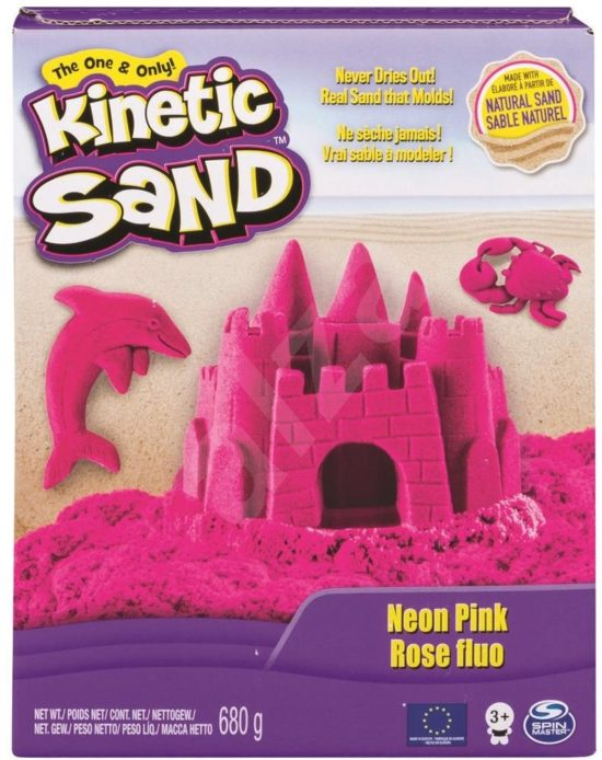 Spinmaster - Kinetic Sand Box Set Neon pink, 680 g