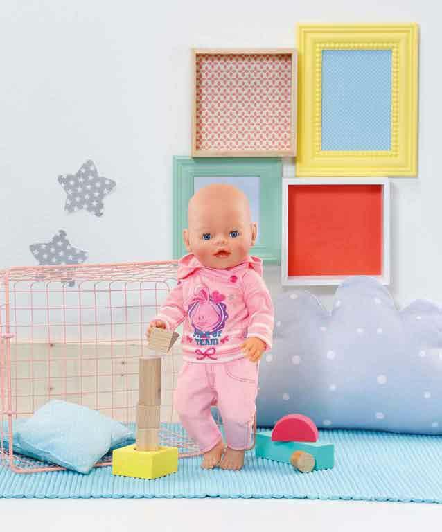 Zapf Creation - Baby Born Freizeitanzug rosa
