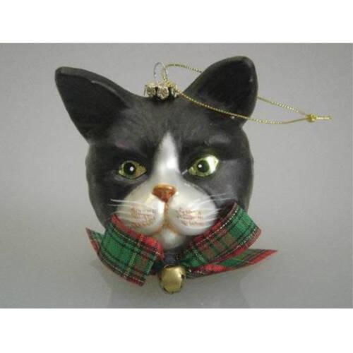 Ludibrium-Katzenkopf schwarz/weiss