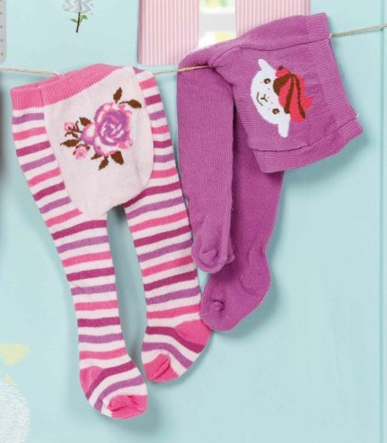 bequeme Strumpfhose für Baby Annabell. Mit süßem Rosen-Motiv auf dem Windelpopo. Auf einen Blick: - für Puppen bis 46 cm - Das hochwertige Zubehör fördert die Fantasie und bringt neue Spielanregungen und Möglichkeiten