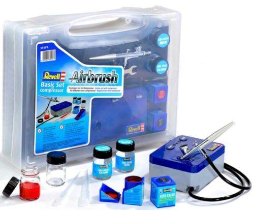 Revell 39199 - Airbrush Einsteigerset mit Kompressor