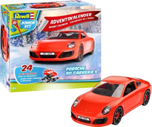 Revell - Adventskalender Junior Porsche 911 Carrera S
