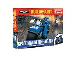 Warhammer - Build+Paint -Space Marine Bike Attack
