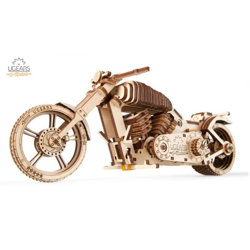 UGEARS 70051 - Bike VM-02 - Mechanischer Holzbausatz
