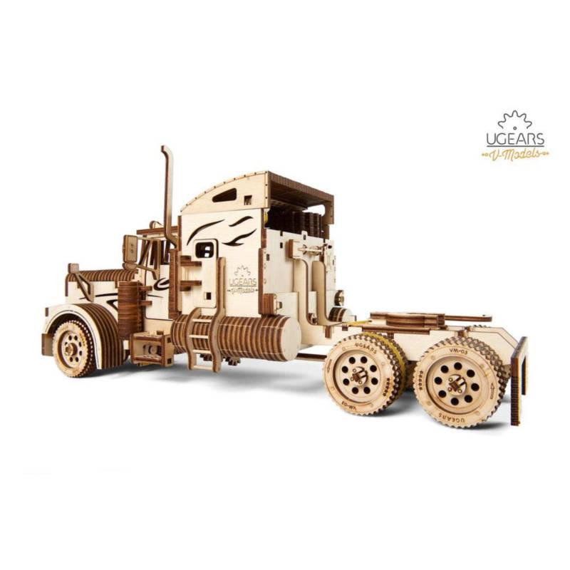 UGEARS 70056 Heavy Boy Truck VM-03