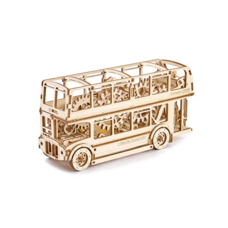 Wooden.City - Londoner Doppeldeckerbus