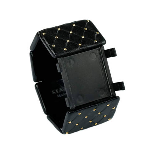 S.T.A.M.P.S. - Armband Belta Royal Black/Gold
