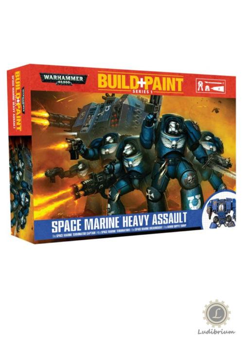 Warhammer - Build+Paint -Space Marine Heavy Assault