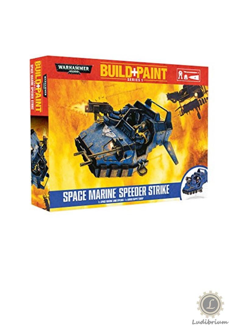 Warhammer - Build+Paint -Space Marine Speeder Strike
