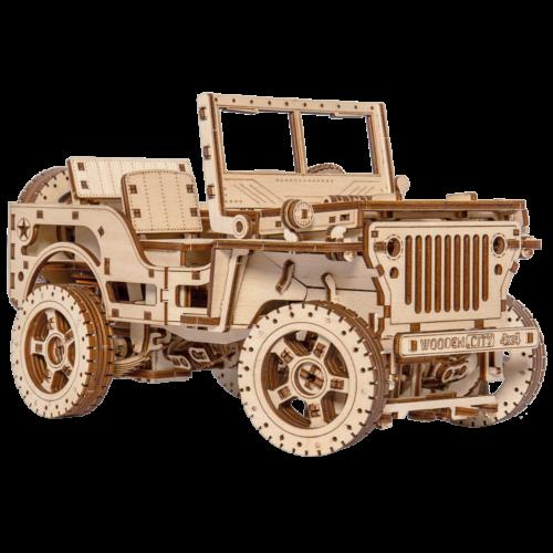 Ludibrium-Wooden.City - 4x4 Truck WR309 - Holzbausatz