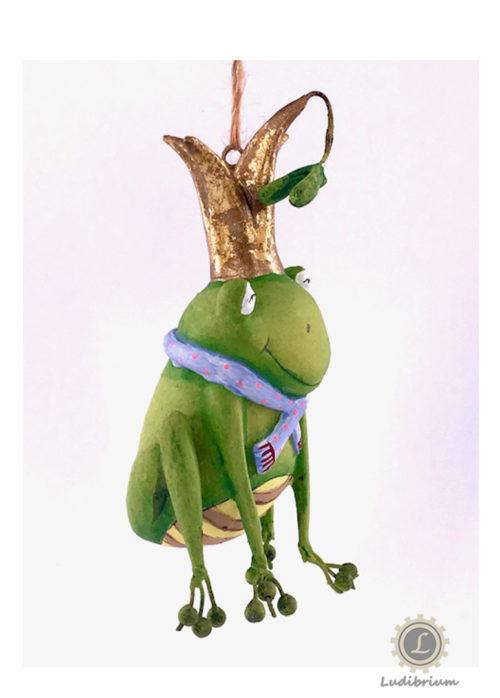 One Hundred 80° - Frosch sitzend zum aufhängen